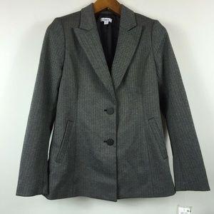 Bar III 4 Black White 2 Button Up Jacket 4C67